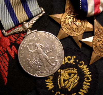 Royal Observer Corps Medal Group | Interesting Provenance.