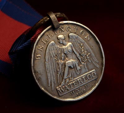 Waterloo Medal | 2nd Batt. 44th Regiment of Foot.