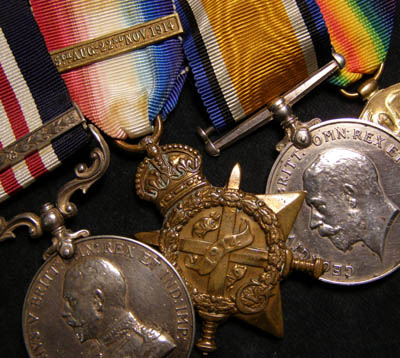 WWI Military Medal & Bar. Manchester Regt.