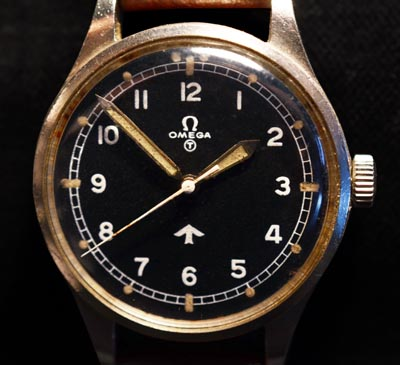 Omega 53 | Fat Arrow| RAF Watch | 1953