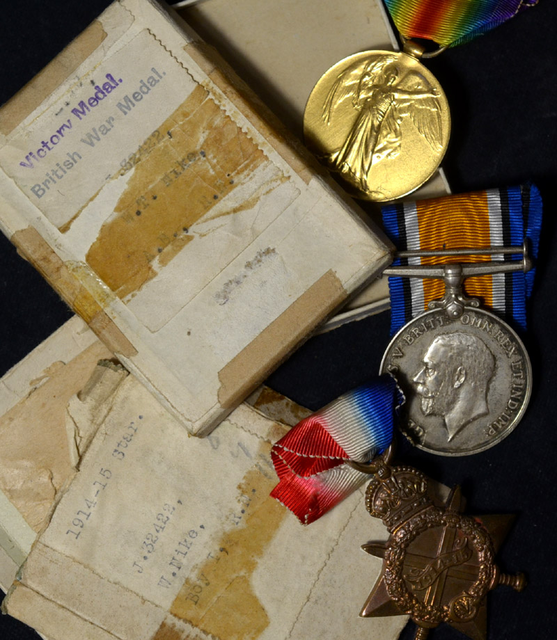 WWI Medal Pair | Royal Navy | Boxed