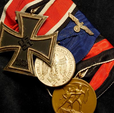 Iron Cross Medal Group | Three Medals | Court Mounted.