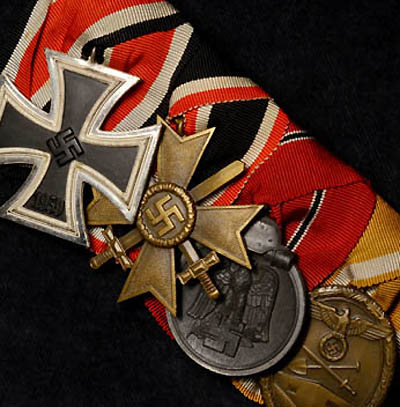 Iron Cross Medal Group | 4 Medals | Court Mounted.
