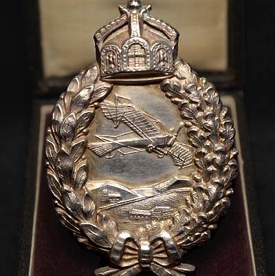 Imperial German Flying Badge | C.E.Juncker | Cased | Ex-Dodkins Collection | Museum Quality.