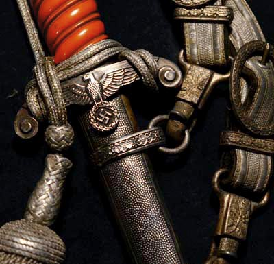 Heer Officers Dagger With Delux Hangers. Eickhorn. Provenance.