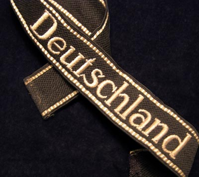 Deutschland Cuff Title | OR/NCO RZM Machine-Embroidered