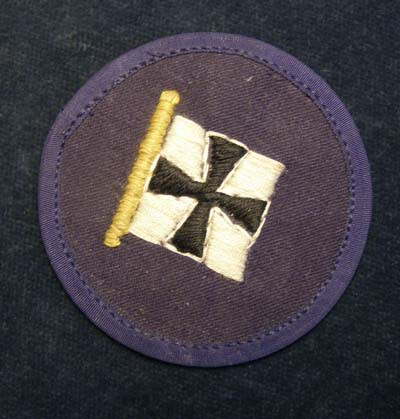 Kriegsmarine Badge. Immediate Junior Staff. Naval Commander-in-Chief.