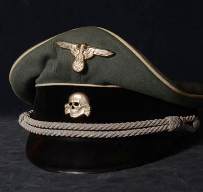 Waffen-SS Officer Visor Cap | Named.
