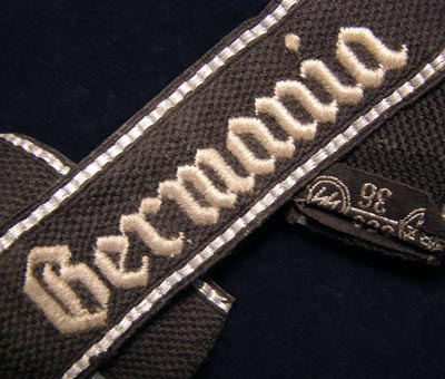 Germania Cuff Title | OR/NCO RZM Machine-Embroidered