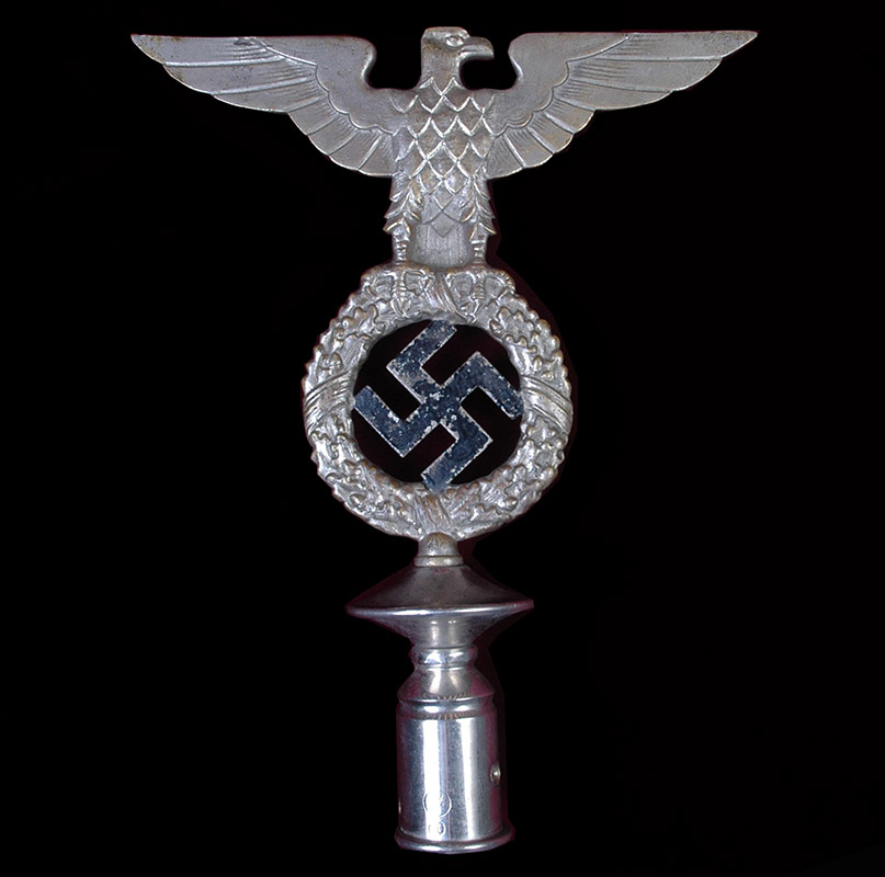 NSDAP FLAG POLE TOP. Eagle & Swastika. 1929.