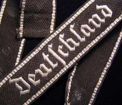 Deutschland Cuff Title | Officer RZM Hand-Embroidered