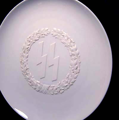 Himmler Presentation Plate. Allach. Great Provenance.