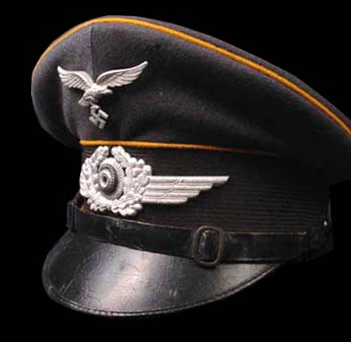 Luftwaffe Peak Visor Cap |Flight Section | Double Erel..