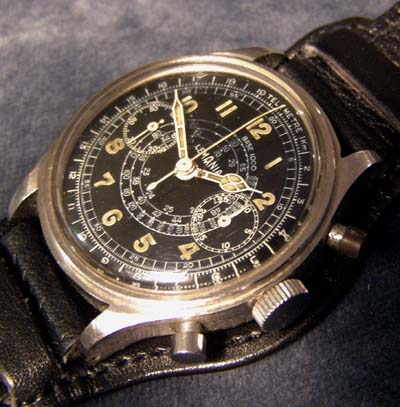 Luftwaffe Chronograph | Lemania | Double-Button | Jagdgeschwader 104