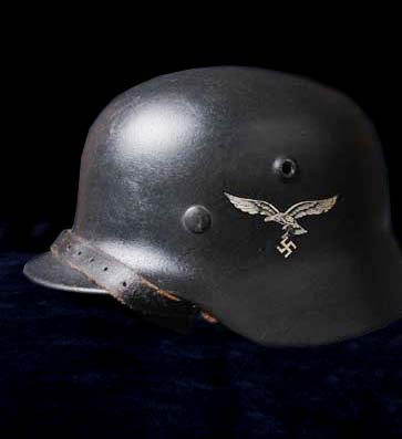 Luftwaffe Helmet. M40. Single Decal.