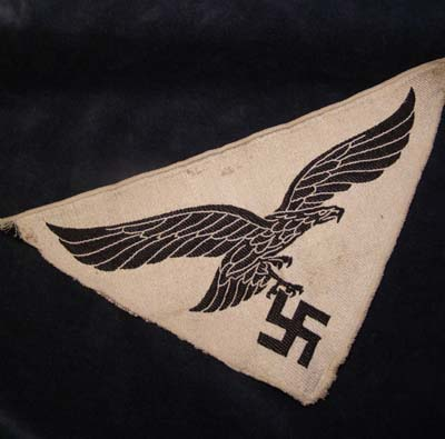 Luftwaffe Woven Sports Eagle & Swastika