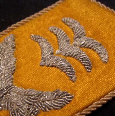 Luftwaffe Flight Section Hauptmann Collar Patch. Single