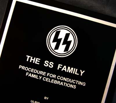 The SS Family - Procedures For Conducting Family Celebrations