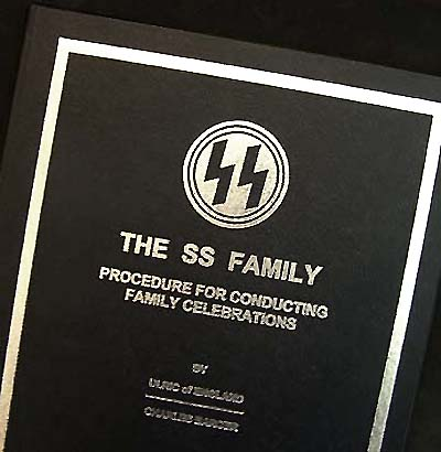 The SS Family - Procedures For Conducting Family Celebrations - Special Hard Bound Edition 1 of 12