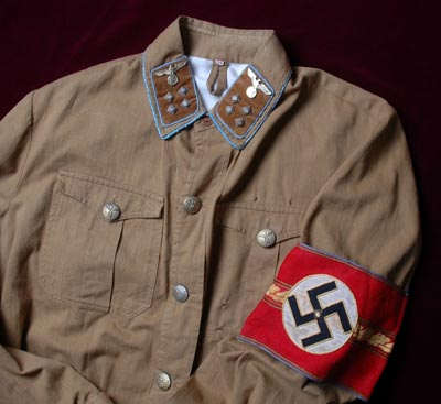 Wartime Ortsgruppenleiter Brown Shirt.