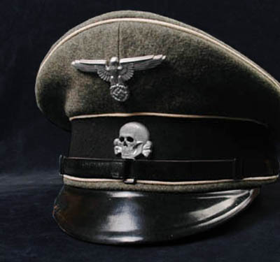 SS-VT Visor Cap | OR/NCO. Named.