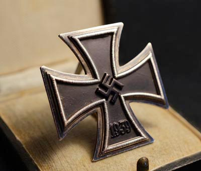 Iron Cross 1st Class. Cased. Made By Zimmermann.