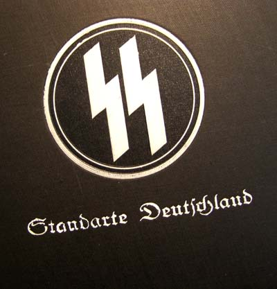 SS Regt.'Deutschland' Photo Album - Signed Hitler Photo - Hess Guard Detachment - Important Album.