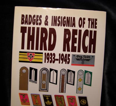 Badges & Insignia Of The Third Reich 1933 - 1945 By Brian Davis.