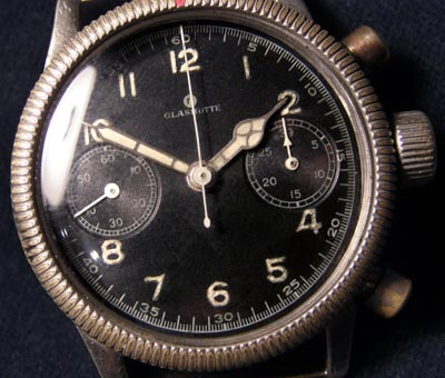 Luftwaffe Tutima Chronograph | Gilt Movement