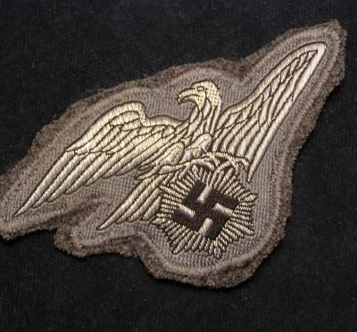RLB (Reichsluftschutzbund) Officer Rank Breast Eagle - Col.Dodkins Collection.