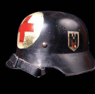 Red Cross Helmet.