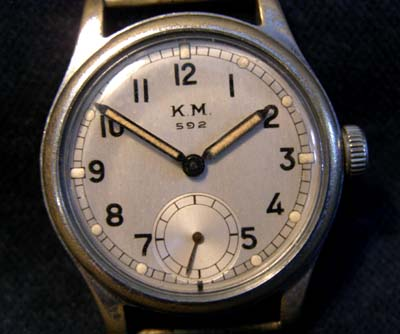Kriegsmarine Watch '592'  By Alpina.