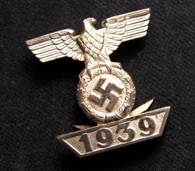 1939 Bar to the Iron Cross 2nd Class by L/11