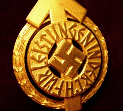 Hitler Youth Leaders Sports Badge