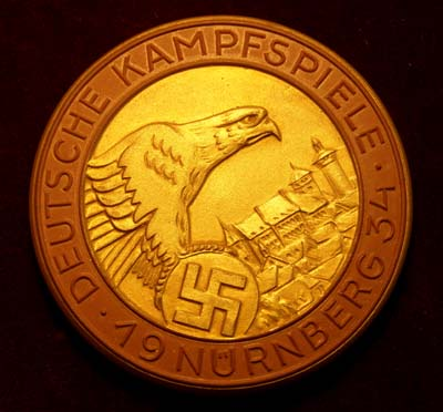 Nuremburg 1934 Rally Prize.