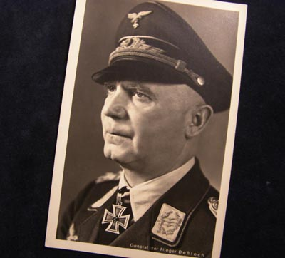 Luftwaffe General Dessloch Postcard.
