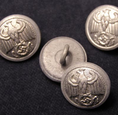 Third Reich Diplomatic Corps Buttons x 4.