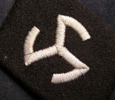 Waffen-SS 'Langemarck' Collar Patch for OR/NCO Ranks | Rare