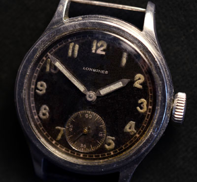 German Army Watch By Longines. D-H.