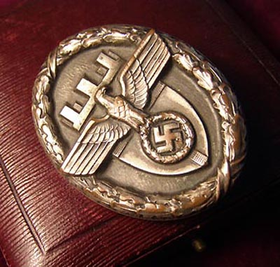 NSDAP Gau East Prussia Badge of Honour With Case.