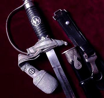 SS Officer Sword - Nickle Silver.