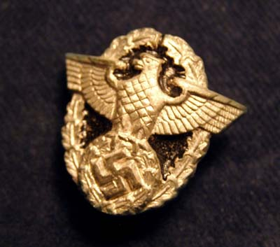 Polizei Sword Wreathed Eagle & Swastika.