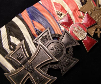 Imperial German Iron Cross Medal Group Of Four..