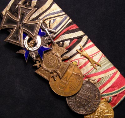 Imperial German Iron Cross  Medal Group Of Six.