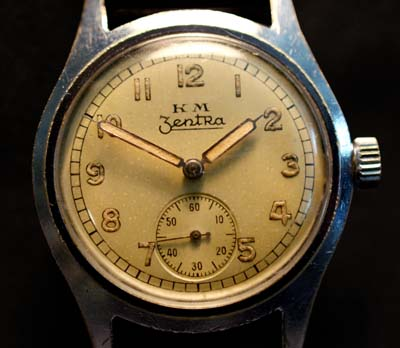 Kriegsmarine Watch | Zentra |Great Provenance
