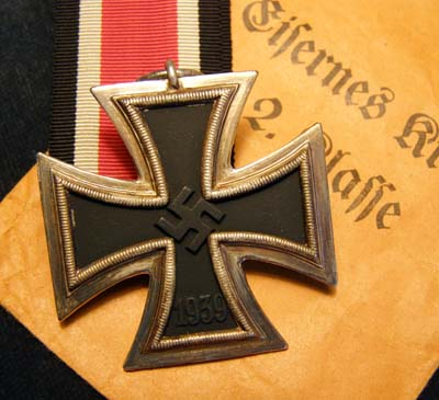 Iron Cross 2nd Class 1939-45 + Issue Envelope