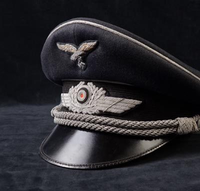 Luftwaffe Officer Visor Cap | Double Erel
