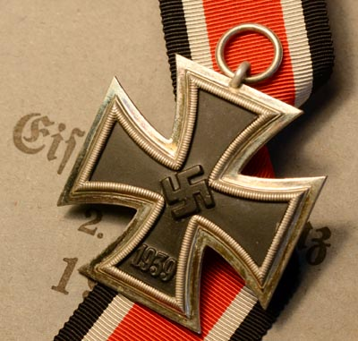 Iron Cross 2nd Class 1939-45 With Packet.