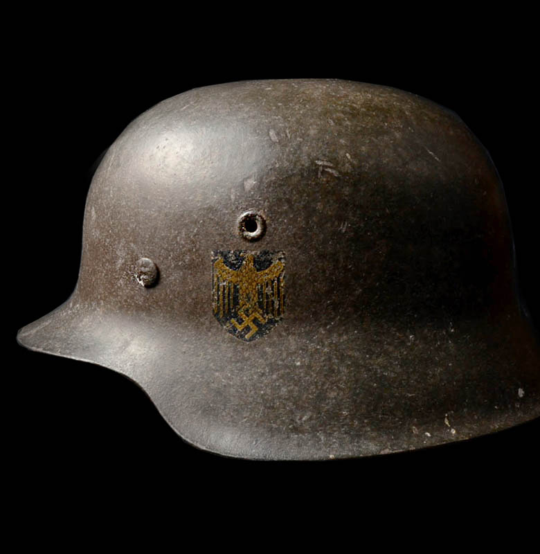 Kriegsmarine Steel Helmet | M42 Single Decal