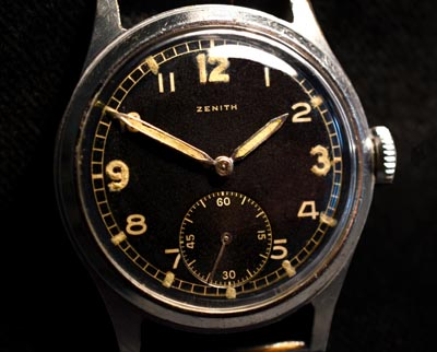 German Army Service Watch By Zenith | Circa 1943.